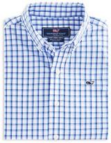 Vineyard Vines Boys' Lamson Check Whale Button Down Shirt - Sizes S-XL