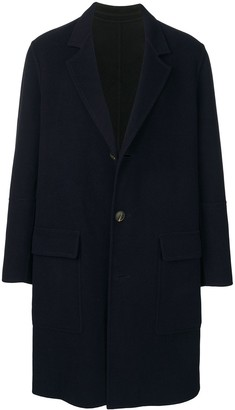 Ami Three-Button Unlined Coat