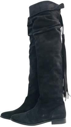 Jean Louis Scherrer Jean-louis Scherrer \N Black Suede Boots