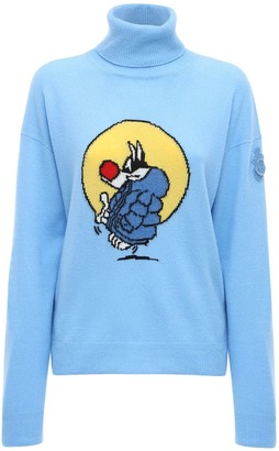 MONCLER GENIUS Jw Anderson Wool & Cashmere Knit Sweater