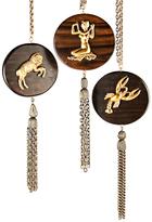 Wood Zodiac Necklaces