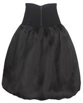 Oscar de la Renta Silk Skirt