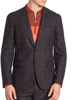 Paul Smith Checked Wool Sportcoat