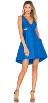 Halston Cut Out Dress