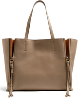 Chloé Milo large leather tote