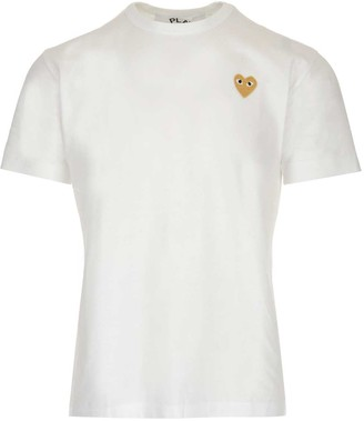 Comme des Garcons Heart Printed T-Shirt