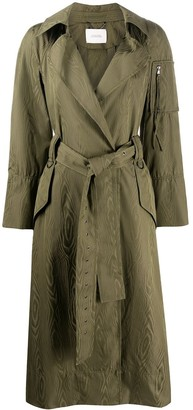 Dorothee Schumacher Waist-Tied Trench Coat