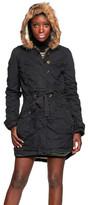 Sylcom Fashion Hooded Coat Black
