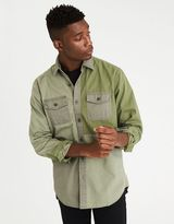American Eagle Outfitters AE Colorblock Military Shirt