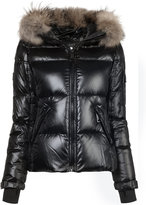 SAM. fur hooded puffer jacket