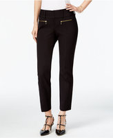 INC International Concepts Petite Zip-Pocket Cropped Pants, Only at Macy's