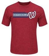 Washington Nationals Men's Charcoal Heather Synthetic T-Shirt
