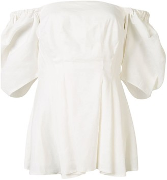 ANNA QUAN Danika off-the-shoulder blouse