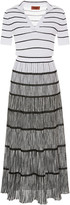 Missoni Striped Ombre Ribbed-Knit Dress