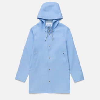 Stutterheim Light Blue/Lavender Stockholm Raincoat - XS - Blue/Purple