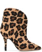 Paris Texas Leopard Pattern Boots