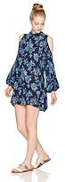 Thumbnail for your product : Angie Women's Long Sleeve Open Back Off Shoulder Dress