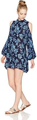 Angie Women's Long Sleeve Open Back Off Shoulder Dress
