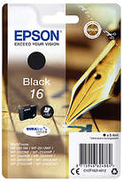 Epson Pen & Crossword T1621 Inkjet Printer Cartridge, Black