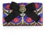 Gucci Broadway Lurex Floral Jacquard Clutch