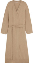 Tomas Maier Belted Cashmere Cardigan - Beige