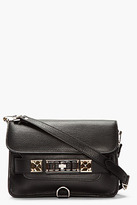 Proenza Schouler Black Leather PS11 Mini Classic
