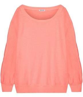 Splendid Cutout Cotton Sweater