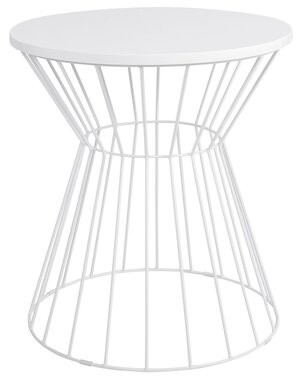 Elle Decor Lulu End Table Color: French White