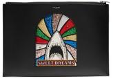 Saint Laurent Sweet Dreams Leather Document Holder