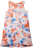 True Religion Tie Dye Logo Dress (Toddler & Little Girls)