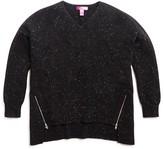 Aqua Girls' High Low Cashmere Sweater - Sizes S-XL