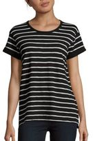 Vince Heathered Striped Tee