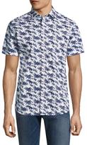 Slate & Stone Hawaiian Print Sportshirt