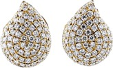 Tamara Comolli Pave Diamond Signature Earrings