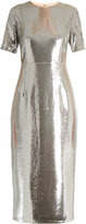 Diane von Furstenberg Sequin-embellished pencil dress