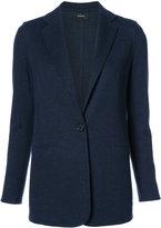 Akris welt pockets blazer - women - Polyamide/Cashmere - 4