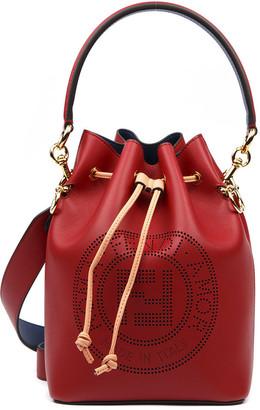 Fendi Strawberry Leather Mon Tresor Bag