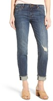 KUT from the Kloth Women's Amy Stretch Raw Hem Jeans
