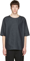 Lemaire Indigo Denim T-shirt