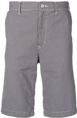 Comme des Garcons Pre-Owned gingham shorts