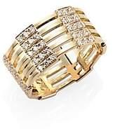 Melissa Kaye Women's Izzy Diamond & 18K Yellow Gold Ring