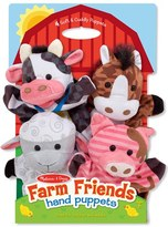 Melissa & Doug Toddler 'Farm Friends' Hand Puppets