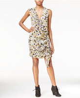Rachel Roy Draped Faux-Wrap Dress, Only at Macy's