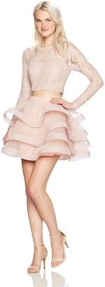 Speechless Women's 2-Piece Party Dress Set