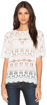 BCBGeneration Lace Top