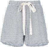 Bassike stripe jersey mini shorts