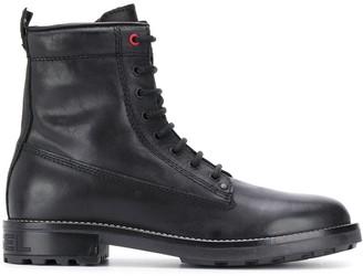 Diesel Lace-Up Combat Boots