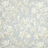 Sanderson Blue Parchment Fabric, Price Band F