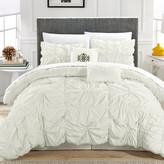 Chic Home Halpert Floral Pinch 6 Piece Comforter Set