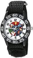 Marvel Kids' W002624 Avengers Time Teacher Analog Display Analog Quartz Watch